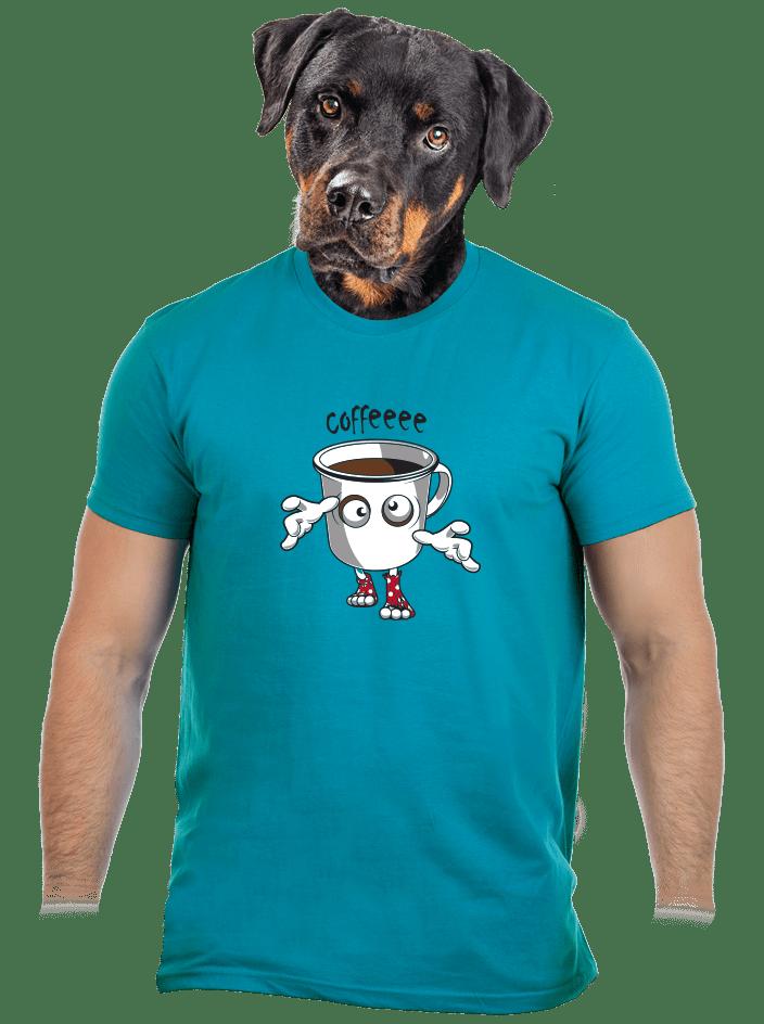 Zombie kafe pánské tričko