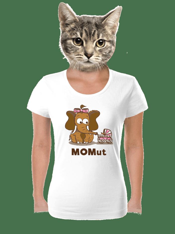 Momut bílé dámské tričko