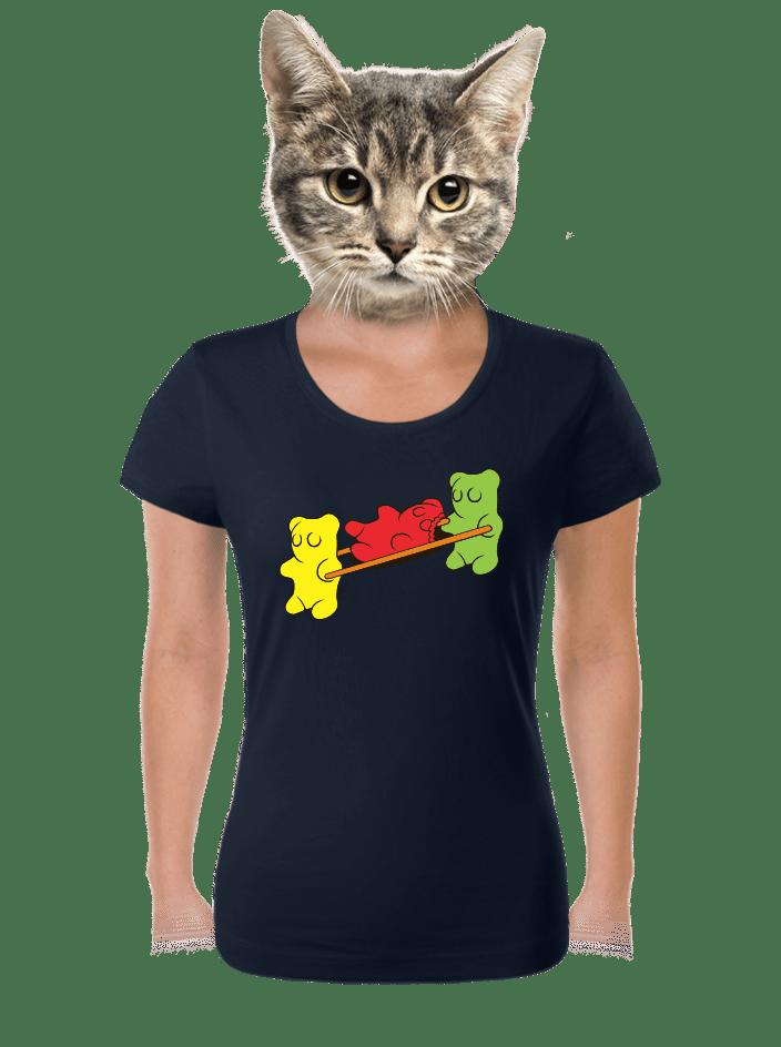 Gumídci dámské tričko