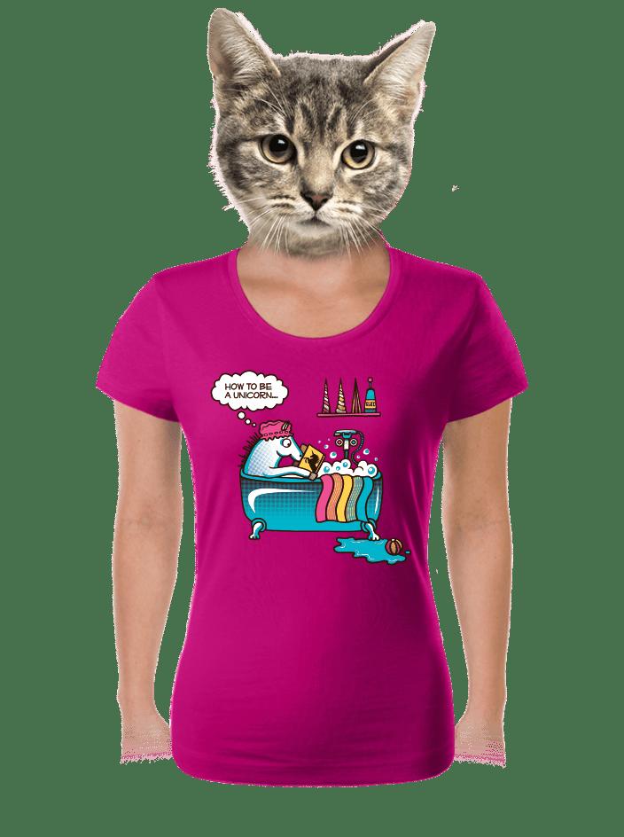 Jak se stát jednorožcem dámské tričko