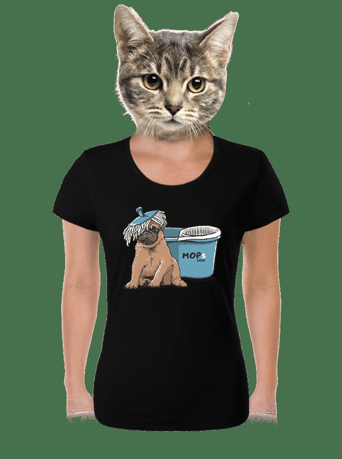 Mops dámské tričko