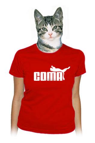 Coma červené dámské tričko