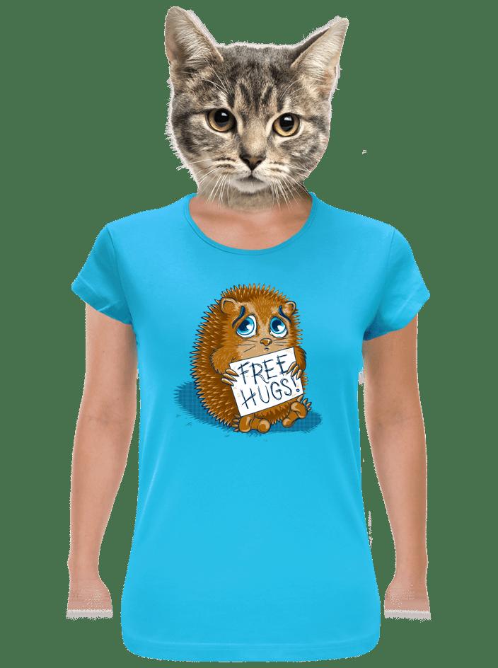 Objetí zdarma dámské tričko