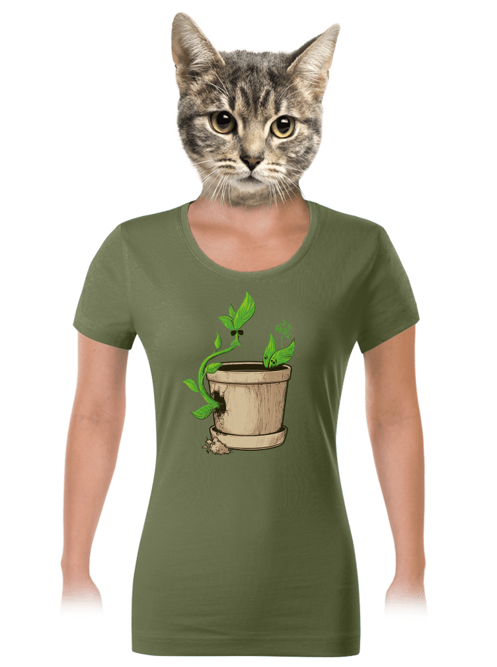 Rebel dámské tričko