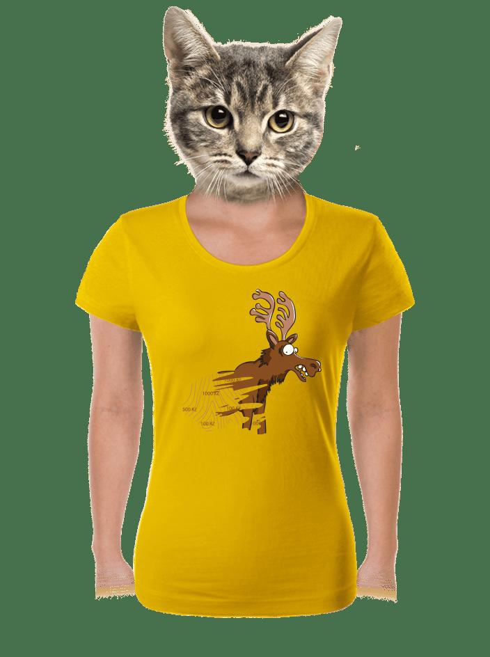 Stírací los dámské tričko