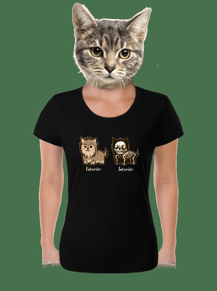 Teriér dámské tričko
