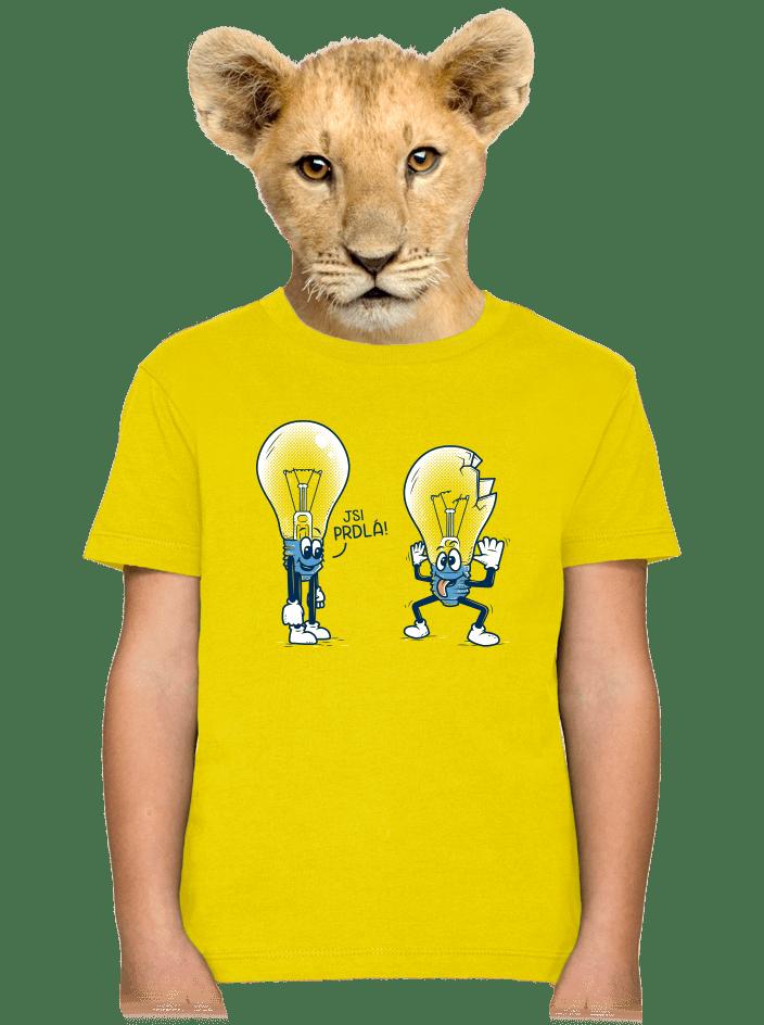 Prdlá dětské tričko