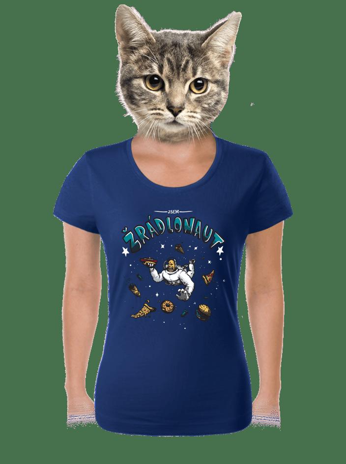 Žrádlonaut dámské tričko