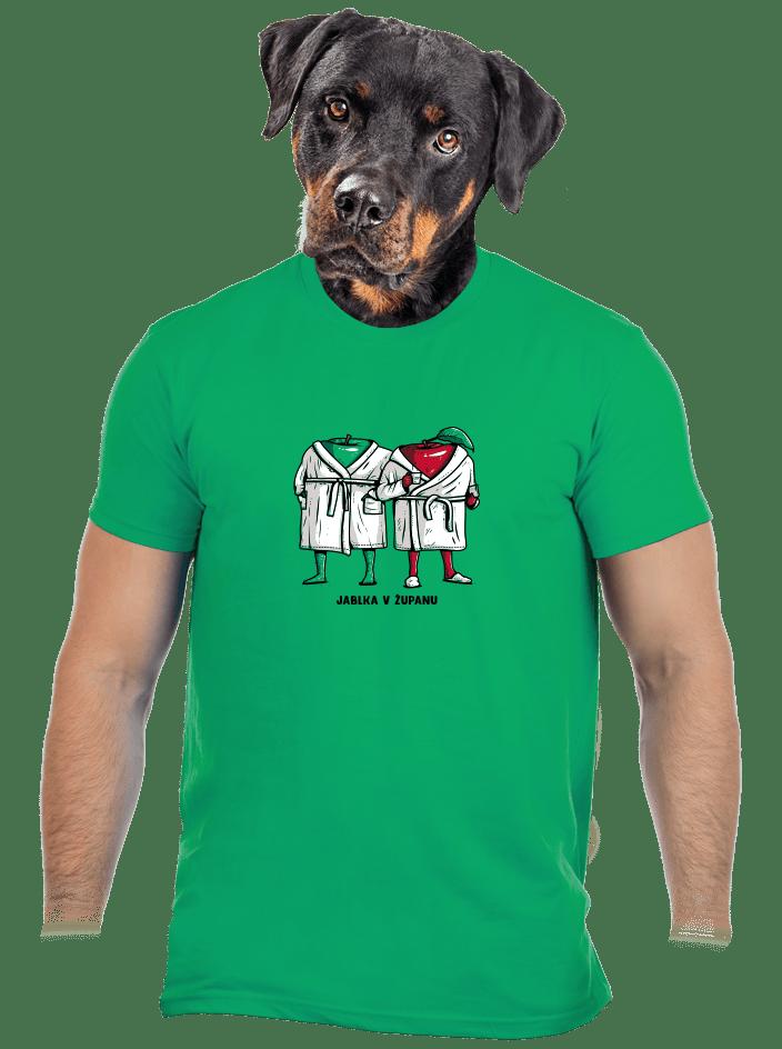 Jablka v županu pánské tričko