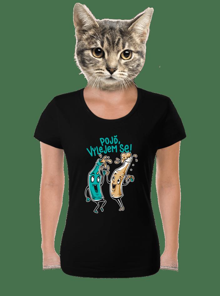 Vylitý dámské tričko