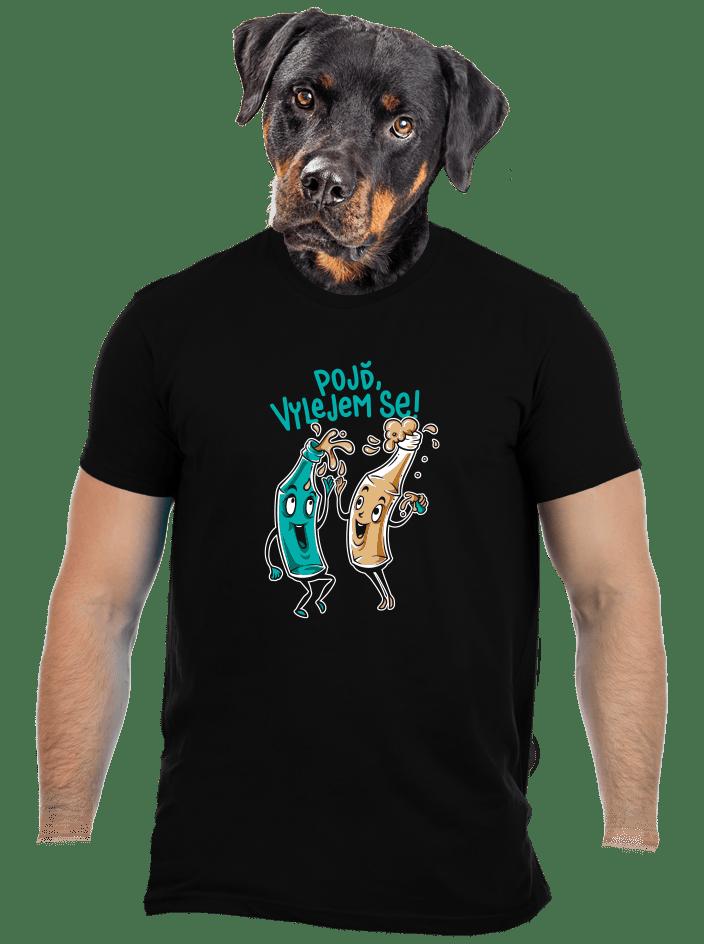 Vylitý pánské tričko