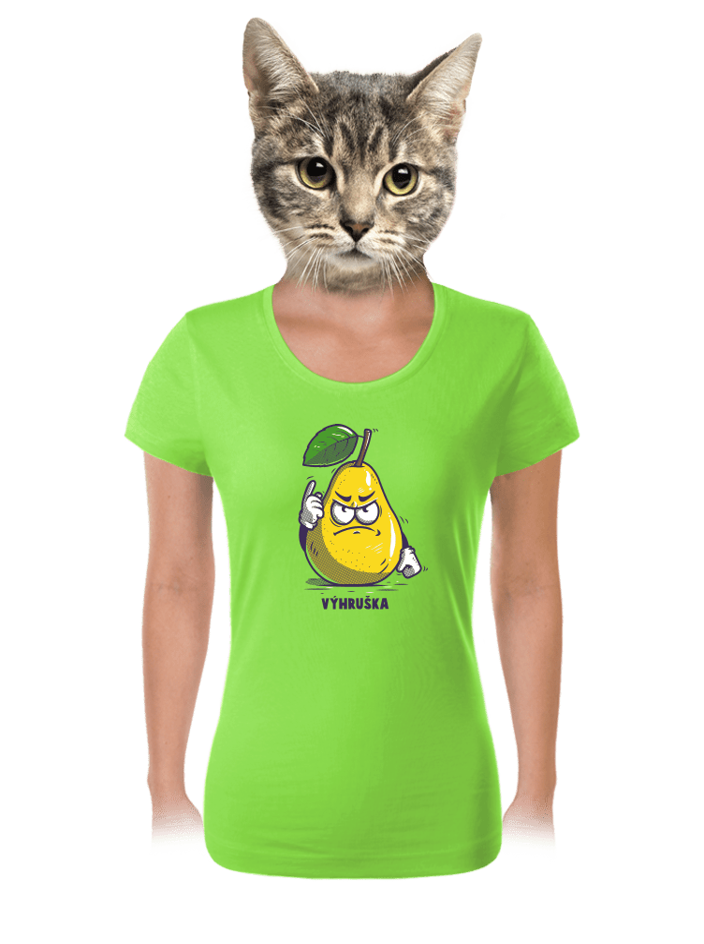 Výhruška dámské tričko