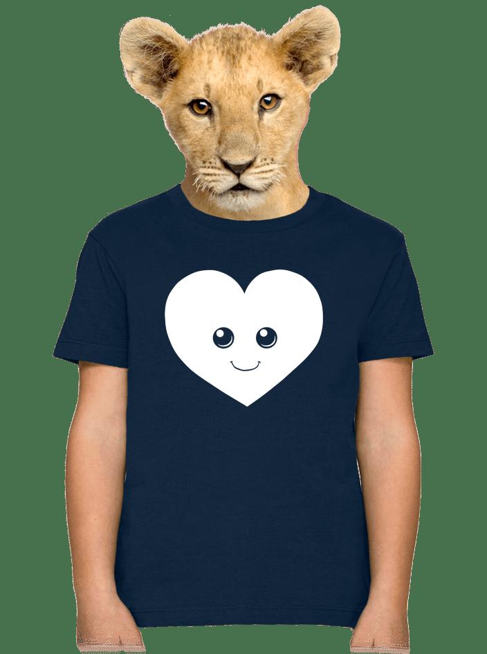 Srdéčko dětské tričko