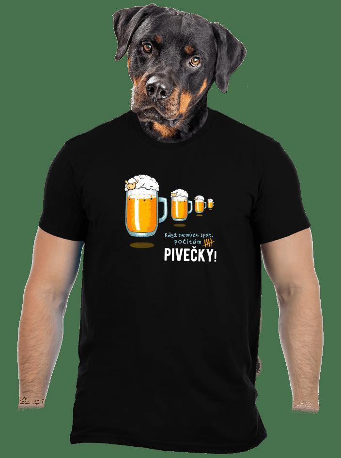 Pivečka pánské tričko