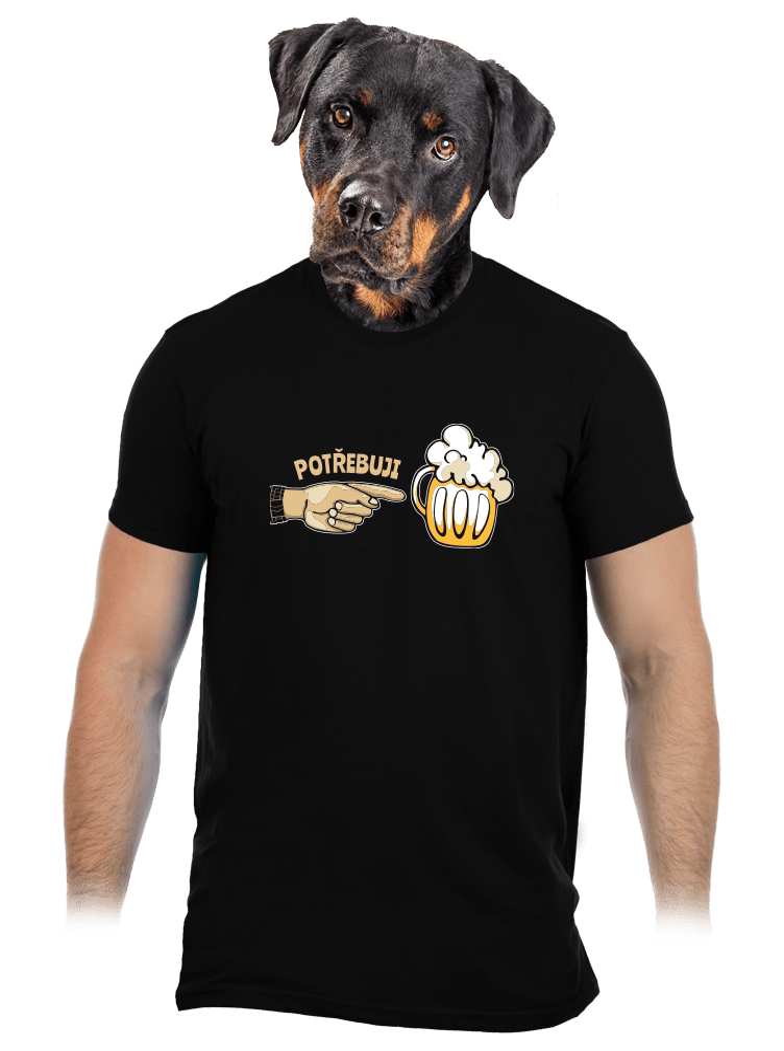 Rodinné potřeby pánské tričko
