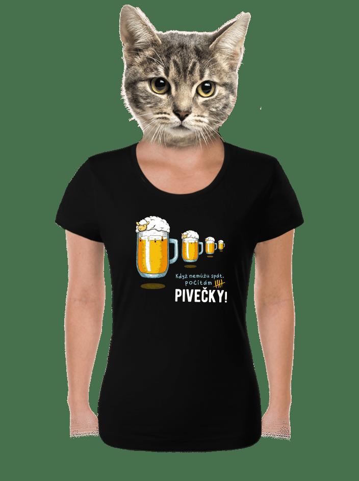 Pivečka dámské tričko