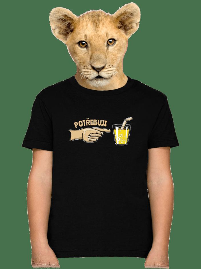 Rodinné potřeby dětské tričko