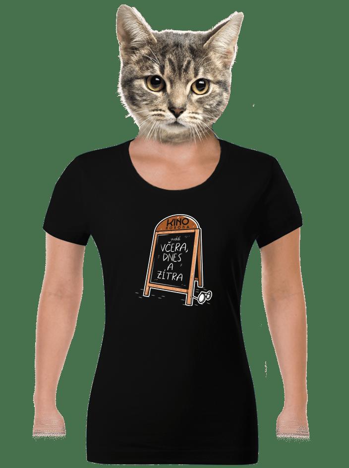 Včera, dnes a zítra dámské tričko