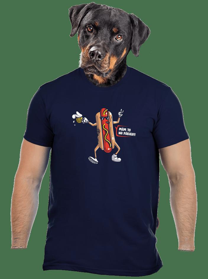 Na párku pánské tričko