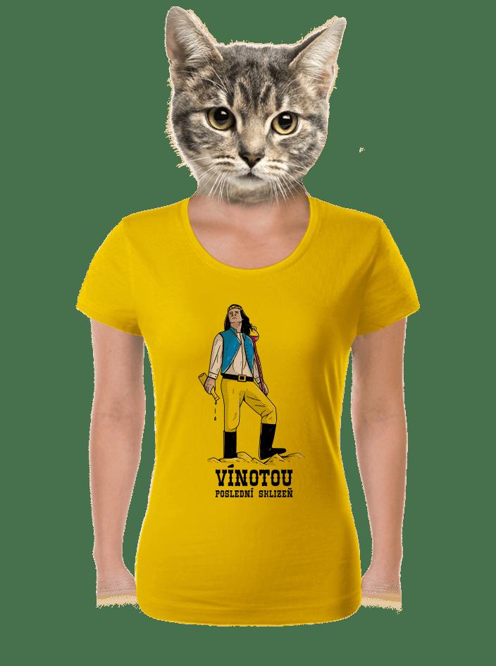Vínotou dámské tričko