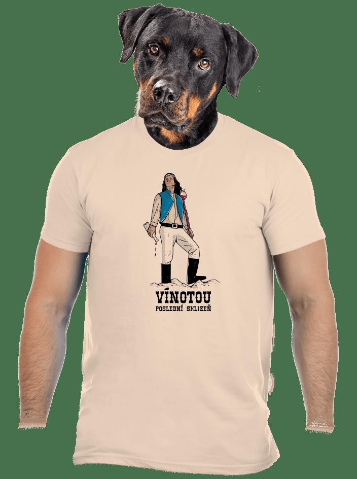 Vínotou pánské tričko
