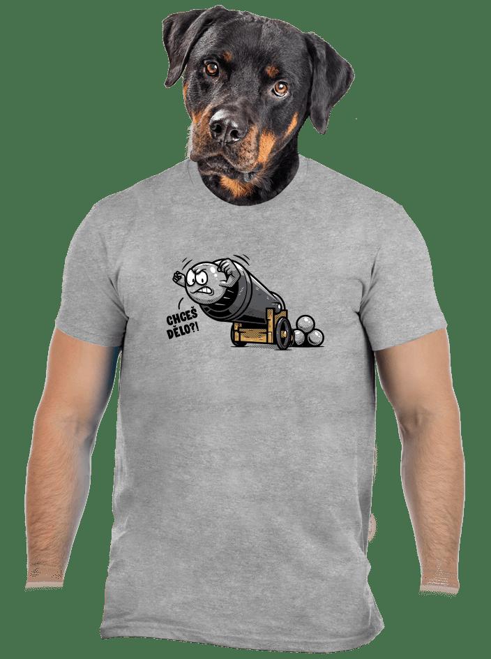 Chceš dělo? pánské tričko