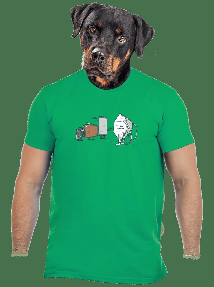 Nový člen pánské tričko
