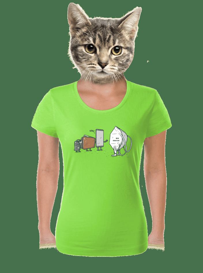 Nový člen dámské tričko