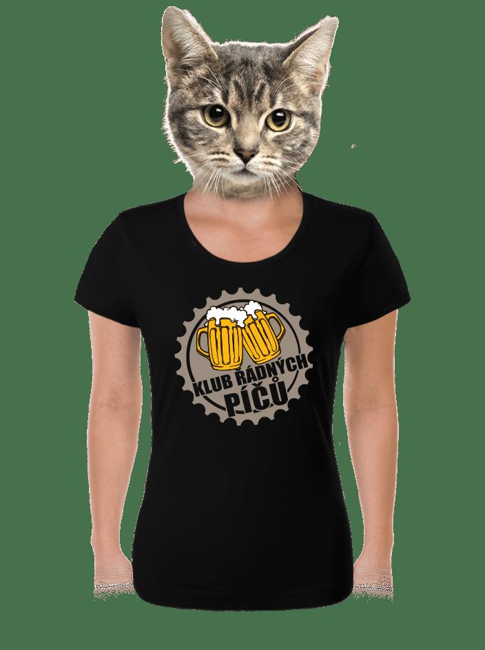 Klub řádných píčů dámské tričko