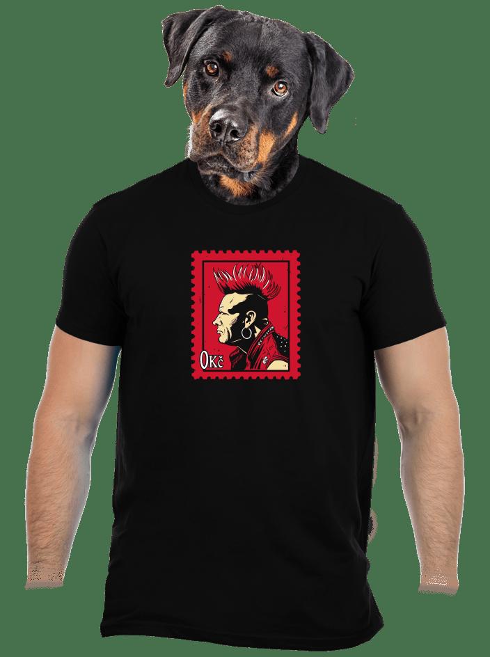 Známka punku pánské tričko