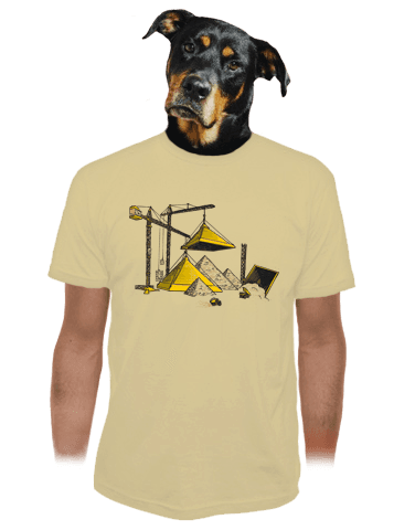 Pyramidy pánské tričko