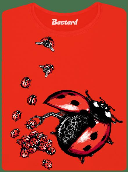 Bastard Ladybird Factory červené dámské