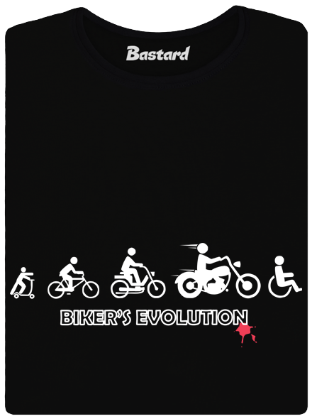Bastard Bikers evolution dámské tričko