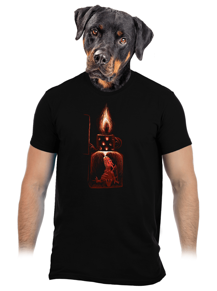 Zapalovač pánské tričko