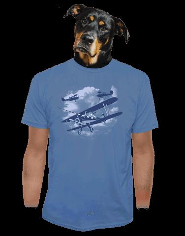 Rytíři nebes pánské tričko - starý střih