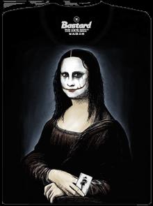 Bastard Mona Joker Lisa pánské tričko