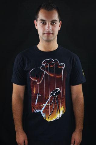 In God's Hands pánské tričko