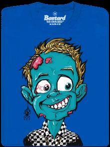 Bastard Láska až za hrob modré pánské tričko