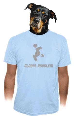 Global Problem tričko