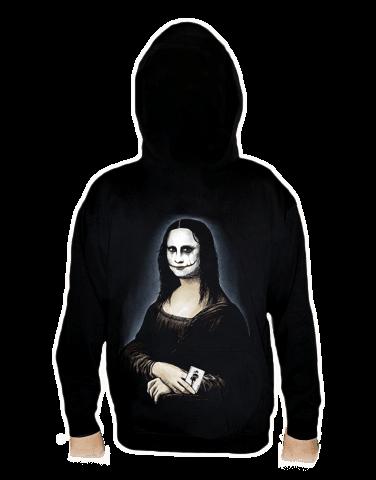 Mona Joker Lisa pánská mikina  – záda