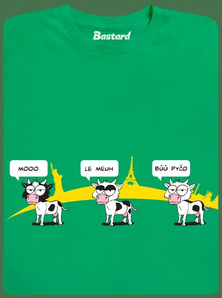 Bastard Ostravačka zelené pánské tričko