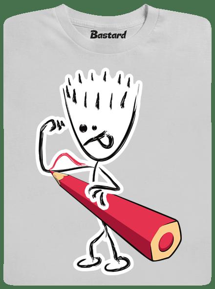 Bastard Svaly šedé pánské tričko
