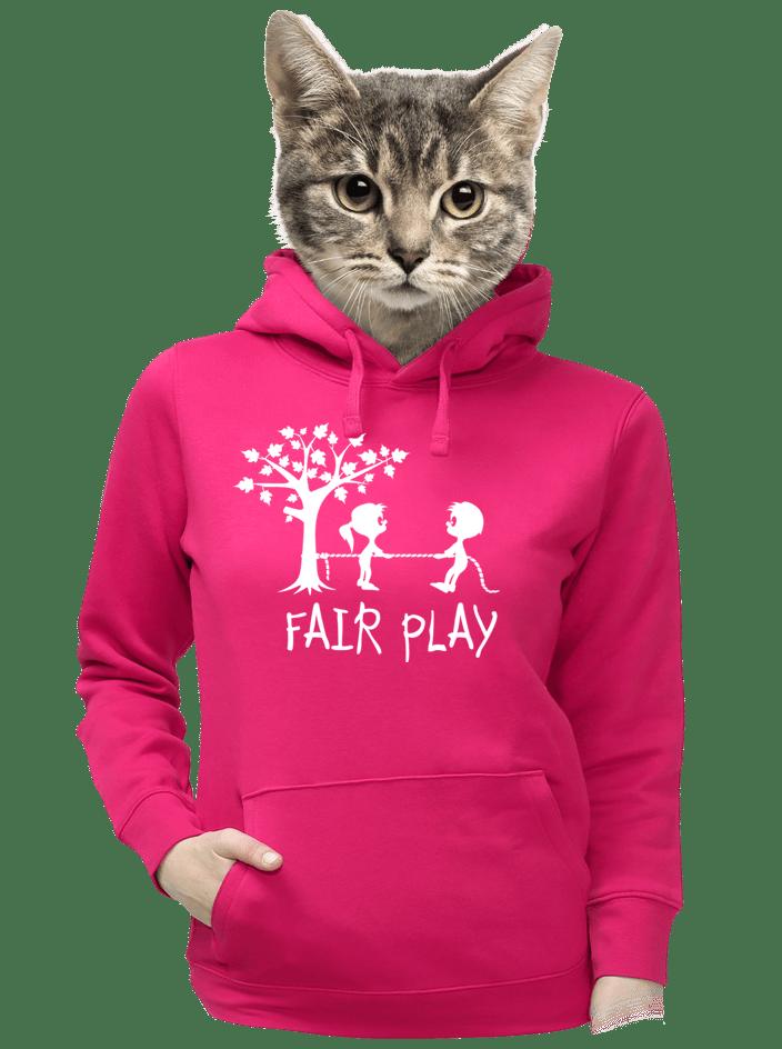 Fair play fuchsiová dámská mikina
