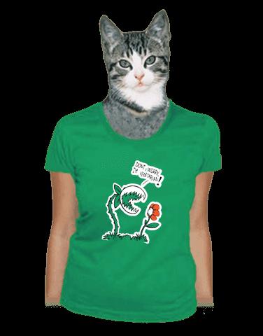 Vegetarián dámské tričko