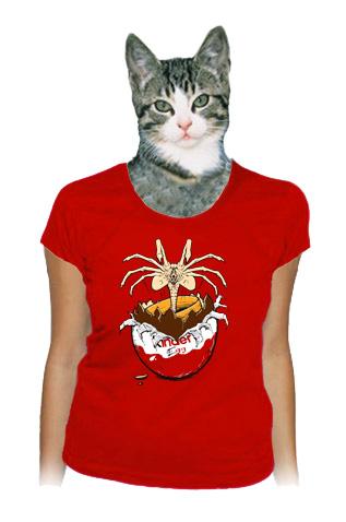 Vejce Vetřelec dámské tričko