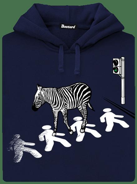 Bastard Zebra pánská mikina