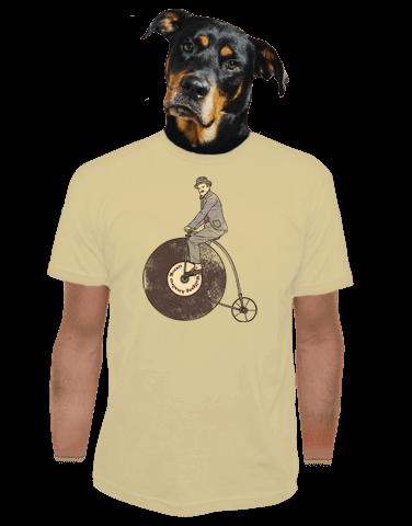 Na čem ujíždíš pánské tričko
