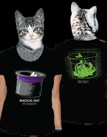 Magický klobouk dámské tričko