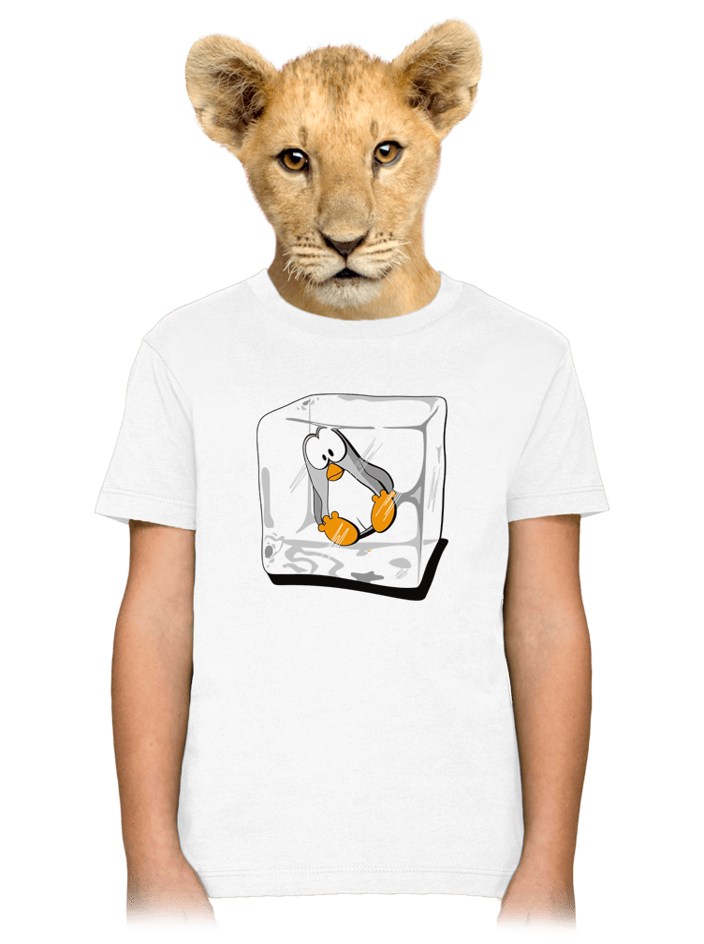 Tučňák dětské tričko