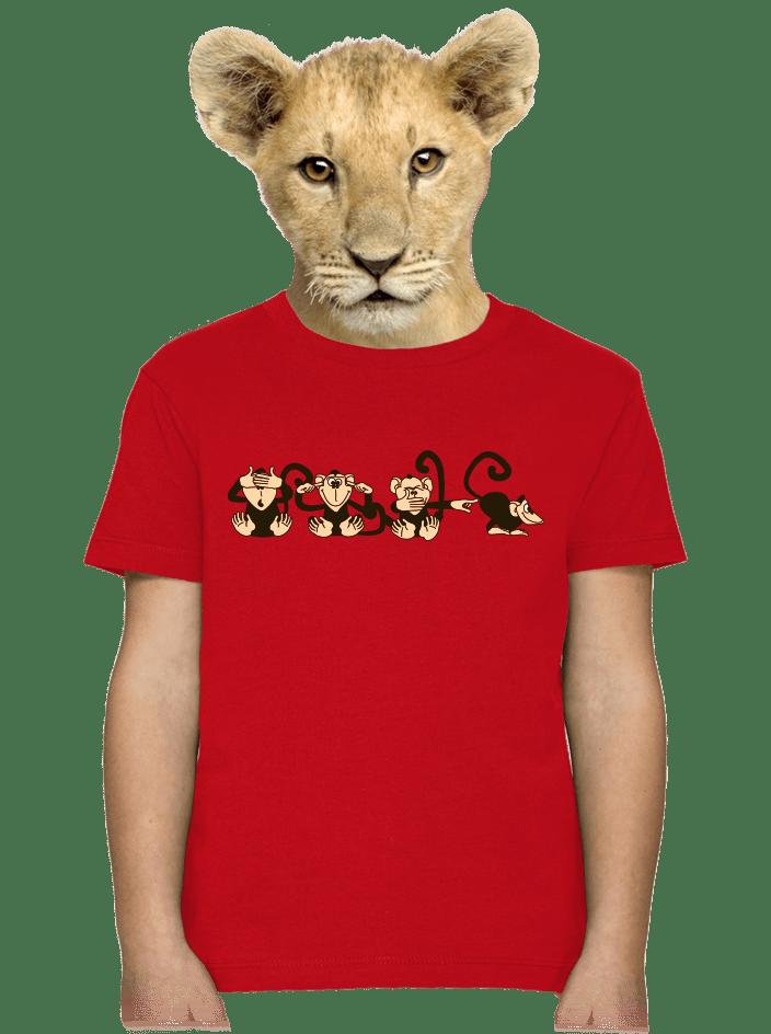 Opice dětské tričko